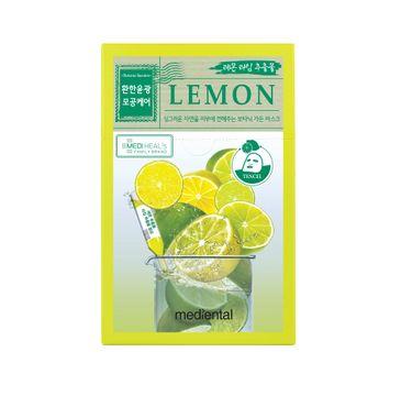 Mediheal Mediental Botanic Garden Lemon rozjaśniająca maska w płachcie z ekstraktem z cytryny i limonki 23ml
