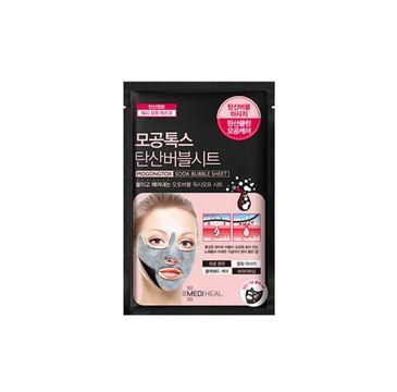 Mediheal Mogongtox Soda Bubble Sheet maska do twarzy oczyszczająco-bąbelkująca 18ml