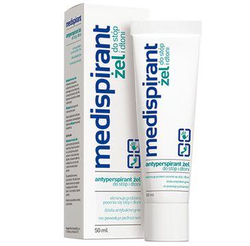 Medispirant – Antyperspirant żel do stóp i dłoni (50 ml)