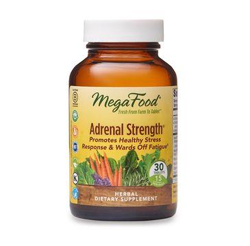 Mega Food Adrenal Strength suplement diety 30 tabletek