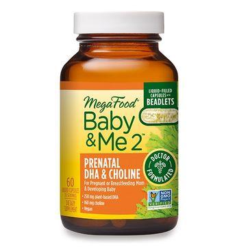 Mega Food Baby & Me 2 Prenatal DHA & Choline suplement diety 60 kapsułek