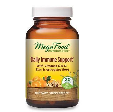 Mega Food Daily Immune Support codzienne wsparcie odporności suplement diety( 30 tabletek)