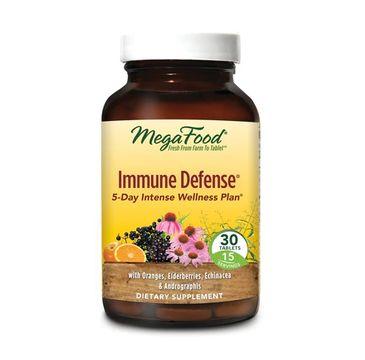 Mega Food Immune Defense obrona immunologiczna suplement diety (30 tabletek)