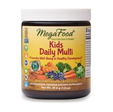 Mega Food Kids Daily Multi multiwitaminy dla dzieci w proszku suplement diety 50g