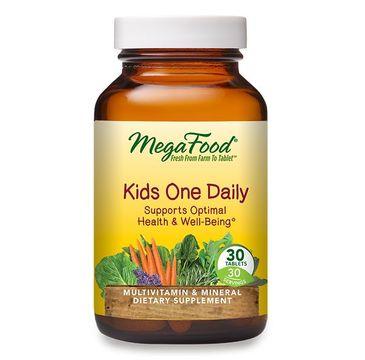 Mega Food Kids One Daily suplement diety dla dzieci 30 tabletek