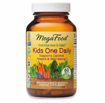 Mega Food Kids One Daily suplement diety dla dzieci 60 tabletek