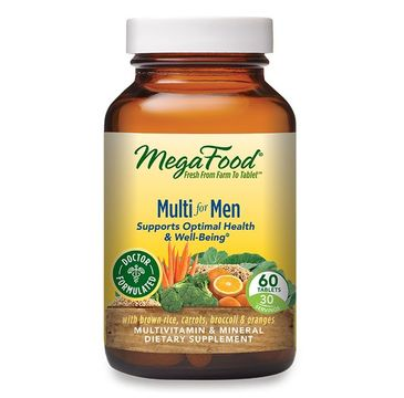 Mega Food Multi For Men multiwitaminy i minerały dla mężczyzn suplement diety (60 tabletek)