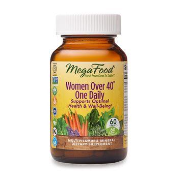 Mega Food Women Over 40+ One Daily multiwitaminy i minerały dla kobiet (60 tabletek)