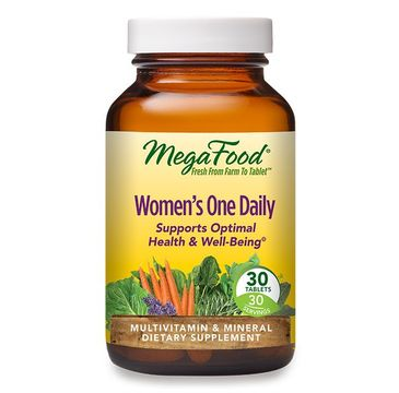 Mega Food Women's One Daily multiwitamina dla kobiet suplement diety (30 tabletek)