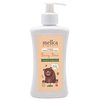 Melica Organic Funny Bear 2in1 szampon i żel pod prysznic dla dzieci (300 ml)