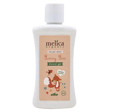 Melica Organic Funny Fox żel pod prysznic dla dzieci (300 ml)