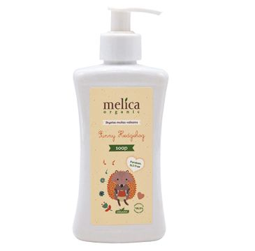 Melica Organic Funny Hedgehog mydło w płynie dla dzieci (300 ml)