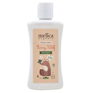 Melica Organic Funny Wolf szampon dla dzieci (300 ml)