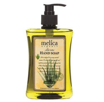 Melica Organic Hand Soap mydło do rąk w płynie Aloe Vera (500 ml)