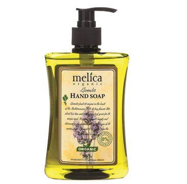 Melica Organic Hand Soap mydło do rąk w płynie Lavenda (500 ml)