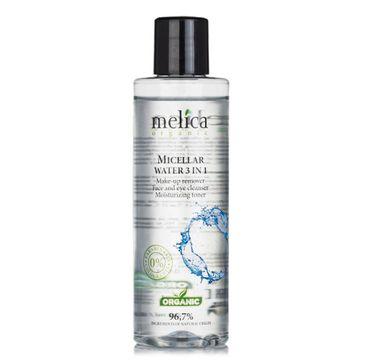 Melica Organic Micellar Water 3in1 woda micelarna 3w1 (200 ml)