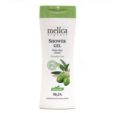Melica Organic Shower Gel żel pod prysznic z ekstraktem z oliwek (250 ml)