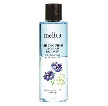 Melica Organic The Two-Phase Make-Up Remover dwufazowy remover do makijażu z witaminą E i ekstraktem z chabru (200 ml)