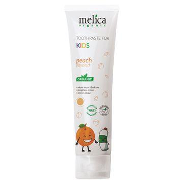 Melica Organic Toothpaste For Kids pasta do zębów dla dzieci Brzoskwinia (100 ml)