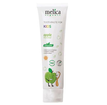 Melica Organic Toothpaste For Kids pasta do zębów dla dzieci Jabłko (100 ml)
