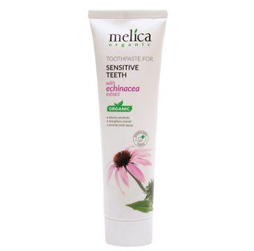 Melica Organic Toothpaste For Sensitive Teeth pasta dla wrażliwych zębów z wyciągiem z echinacei (100 ml)
