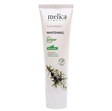Melica Organic Toothpaste Whitening wybielająca pasta do zębów z ekstraktem z jałowca (100 ml)
