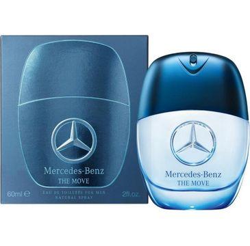 Mercedes-Benz – The Move For Men woda toaletowa spray (60 ml)