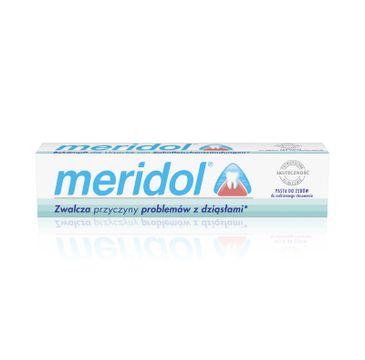 Meridol pasta do zębów regeneracja podrażnionych dziąseł 75 ml