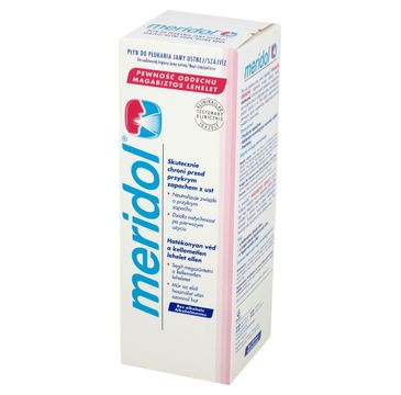 Meridol Pewność Oddechu Płyn do płukania ust odświeżający 400 ml