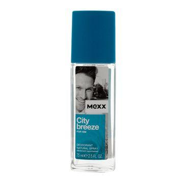 Mexx City Breeze for Him dezodorant w atomizerze delikatny 75 ml
