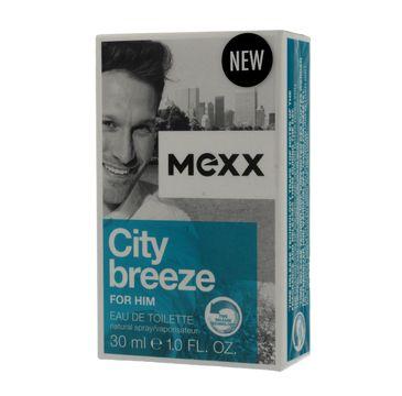 Mexx City Breeze for Him woda toaletowa dla mężczyzn 30 ml