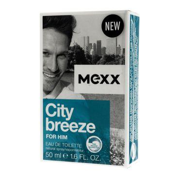 Mexx City Breeze for Him woda toaletowa dla mężczyzn 50 ml