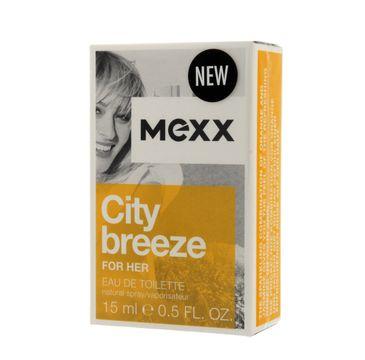 Mexx City Breeze woda perfumowana dla kobiet 15 ml
