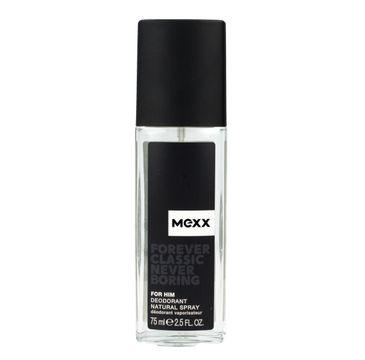 Mexx Forever Classic Never Boring for Him dezodorant naturalny spray męski 75 ml