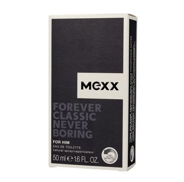 Mexx Forever Classic Never Boring for Him woda toaletowa 50 ml