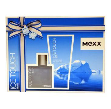 Mexx Ice Touch Man zestaw woda toaletowa spray 30ml + żel pod prysznic 50ml