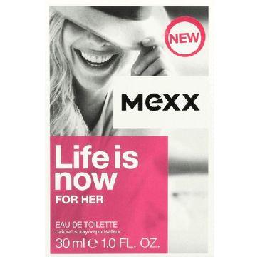 Mexx Woman Life Is Now woda toaletowa dla kobiet 30 ml