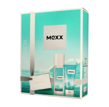 Mexx Zestaw prezentowy Ice Touch Woman deo atomizer 75 ml + żel pod prysznic 50 ml