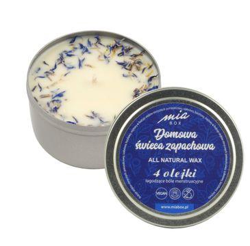 MIA BOX Domowa Świeca zapachowa 4 olejki - BÓLE MENSTRUACYJNE (190 g)
