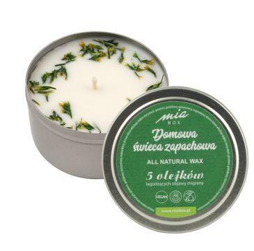 MIA BOX Domowa Świeca zapachowa 5 olejków - MIGRENA (190 g)