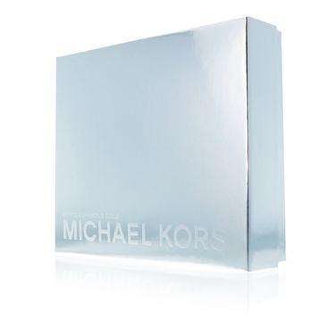 Michael Kors Zestaw White Luminous Gold woda perfumowana spray 50ml + balsam do ciała 100ml