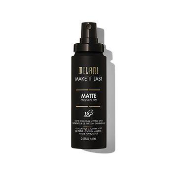 Milani – Make It Last Matte Charcoal Setting Spray matująca mgiełka do twarzy (60 ml)