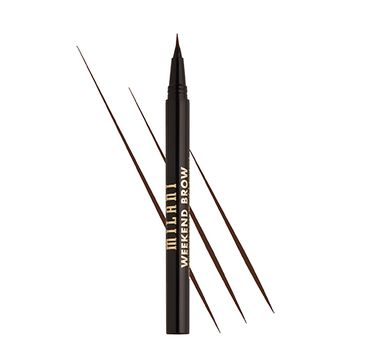 Milani Weekend Brow Eyebrow Tint – pisak do brwi Medium Brown (1 ml)
