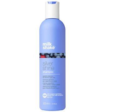 Milk Shake Silver Shine Shampoo szampon do włosów blond i siwych 300ml