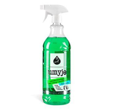Mill Clean Umyje płyn do mycia szyb. luster i glazury Konwalia 1.22l