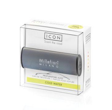 Millefiori Icon Car Air Freshener zapach samochodowy Classic Antracite Cold Water 1szt