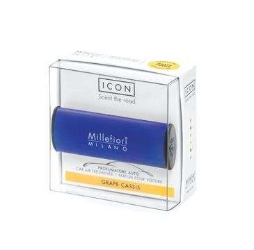 Millefiori Icon Car Air Freshener zapach samochodowy Classic Dark Blue Grape Cassis 1szt