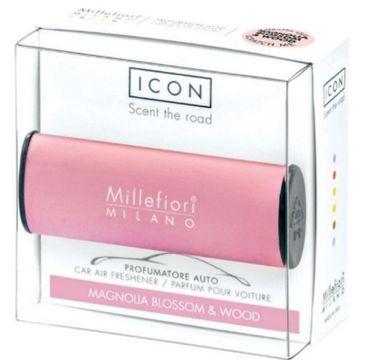Millefiori Icon Car Air Freshener zapach samochodowy Classic Pink Magnolia Blossom & Wood 1szt