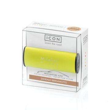 Millefiori Icon Car Air Freshener zapach samochodowy Classic Yellow Sandalo Bergamotto 1szt