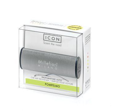 Millefiori Icon Car Air Freshener zapach samochodowy Metallo Mat Antracite Pompelmo 1szt